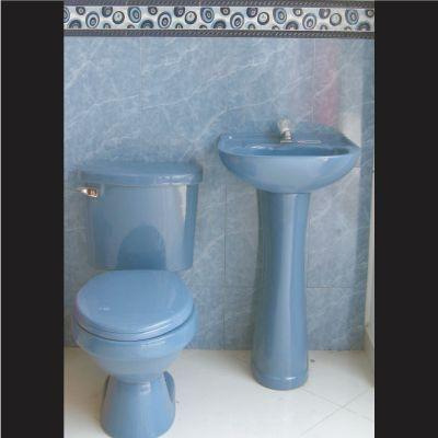 Materiales emo s a s ceramicas sanitarios azul - Sanitarios de colores ...